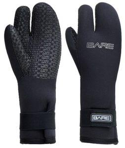 Bare 3Finger Handschuh