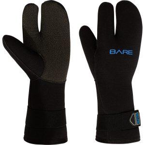 Bare 7mm K-Palm Dreifinger-Handschuh