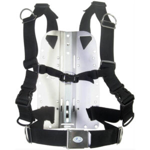 Zeagle Backplate mit Deluxe Harness