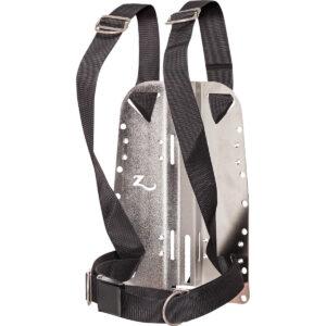 Zeagle Backplate mit Standard Harness