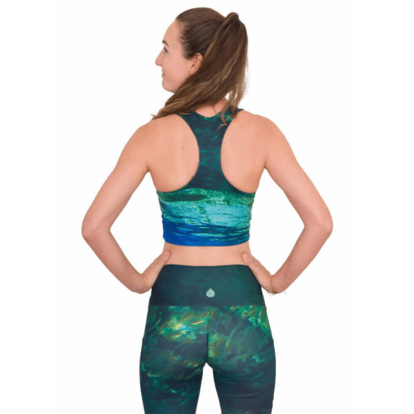 Waterlust Fontain of Youths / Mermaid Camo Top