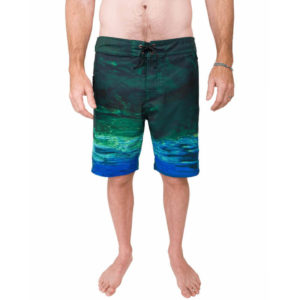 Waterlust Merman Camo Boardshorts